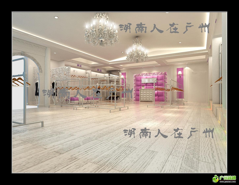 锦东服装城的简约欧式服装店铺