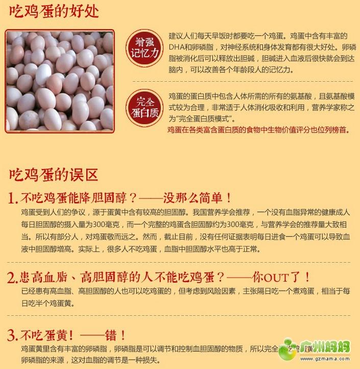 散养土鸡蛋的营养价值?