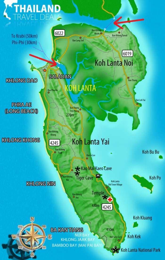 兰塔岛,品味泰国渔民原汁原味的生活