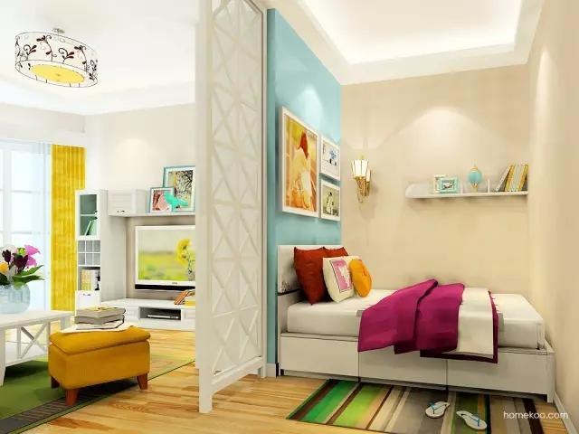 36平狭长小户型这么设计,完爆100平三居室 装修家居