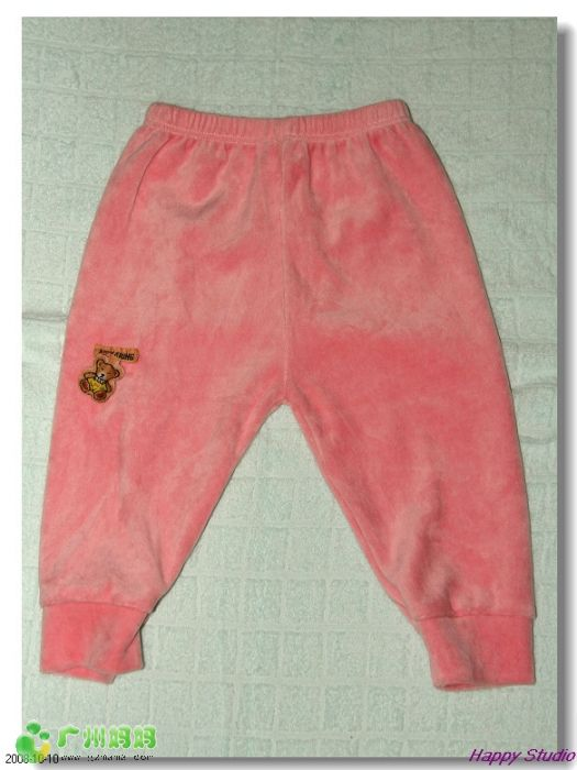 丝绒 裤子 战利品